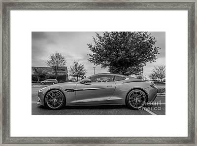 Aston Martin Vanquish V12 Coupe Framed Print