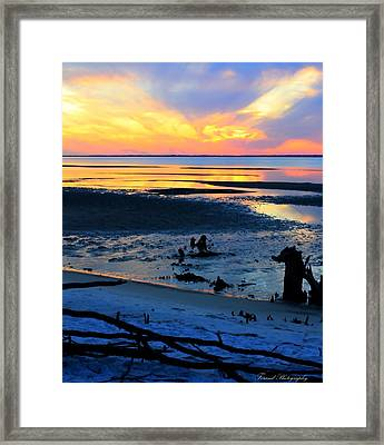 At A Days End Framed Print