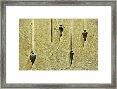 At The Right Angle Framed Print by Jan Amiss Photography