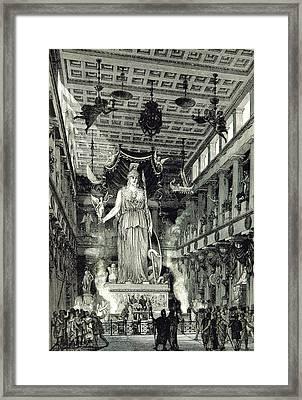 Athenian Acropolis, Parthenon Framed Print by British Library