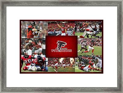 Atlanta Falcons Framed Print