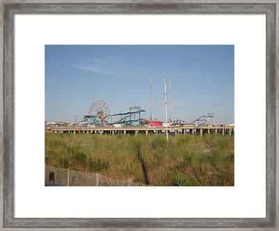 Atlantic City - 01131 Framed Print by DC Photographer
