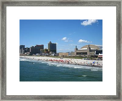 Atlantic City - 01136 Framed Print by DC Photographer