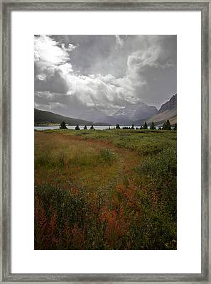 Framed Print featuring the photograph Atmosphere by Jane Melgaard
