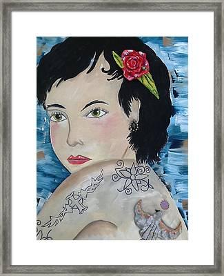 Audra Framed Print by Karen Carnow