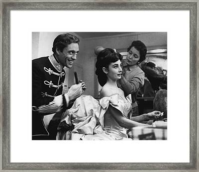 Audrey Hepburn Framed Print by Retro Images Archive