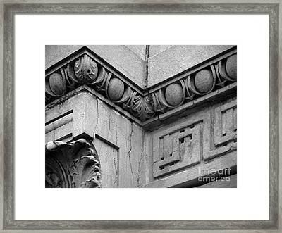 Augustana College Denkmann Memorial Hall Framed Print