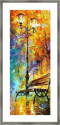 Aura Of Autumn 2 Framed Print by Leonid Afremov