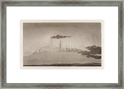 Auroral Display Framed Print by King's College London