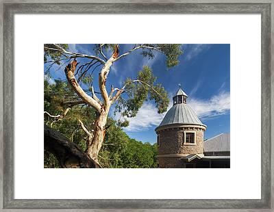 Australia, Barossa Valley, Mount Framed Print