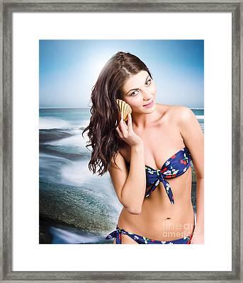 Australian Beach Beauty Framed Print by Jorgo Photography - Wall Art Gallery