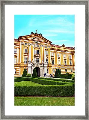 Austria, Melk Monastery, Church Framed Print by Miva Stock