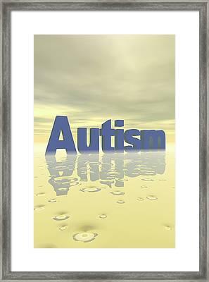 Autism Framed Print