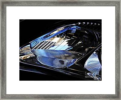 Auto Headlight 53 Framed Print