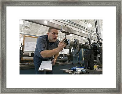 Automobile Engineering Research Framed Print