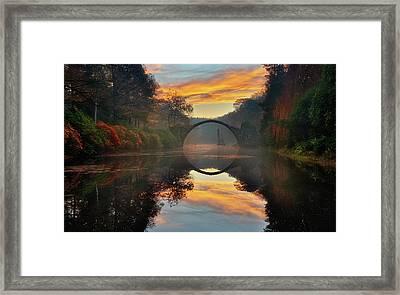 Autumn Garden... Framed Print