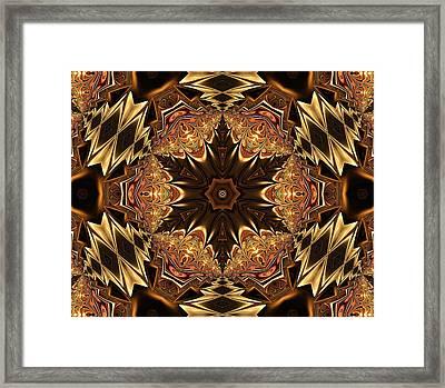 Autumn Glamour Framed Print by Georgiana Romanovna