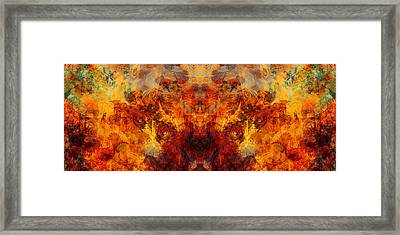 Autumn Glory Framed Print by Christopher Gaston