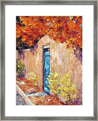 Autumn Morning Framed Print