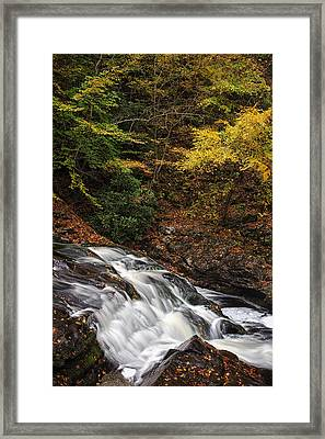 Autumn Rapids Framed Print by Andrew Soundarajan