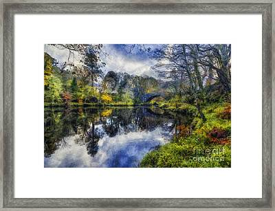 Autumn Reflections Framed Print by Ian Mitchell