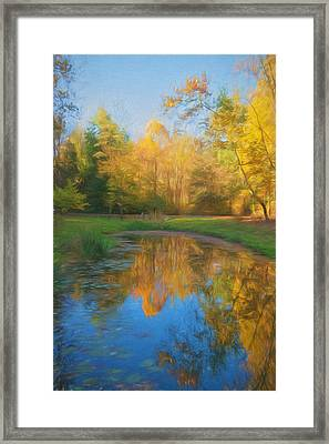 Autumn Splendor Framed Print