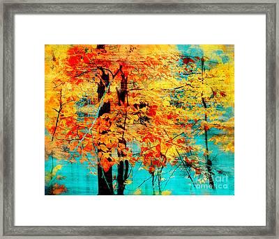 Autumn Tapestry Framed Print