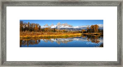 Autumns Calling Card Framed Print