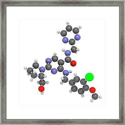 Avanafil Erectile Dysfunction Drug Framed Print
