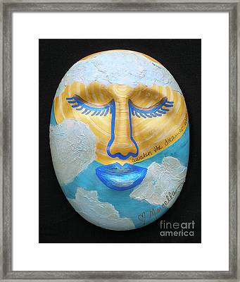 Awaken The Dreamer Within Framed Print