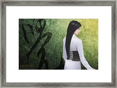 Awareness Ver.a Framed Print by Hiroshi Shih