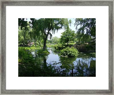 Away From The City Framed Print by Skyler Tipton