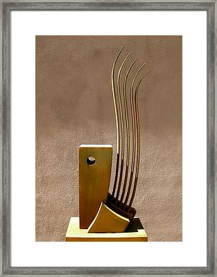 Awe At The Wind And Waves  Framed Print by Robert Hartl