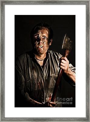 Axe Murderer Framed Print by Jorgo Photography - Wall Art Gallery