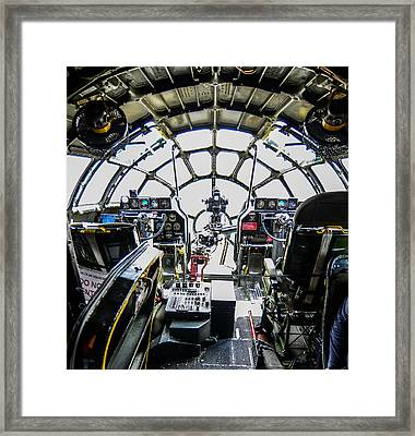 B 29 Superfortress Cockpit  Framed Print by Puget  Exposure