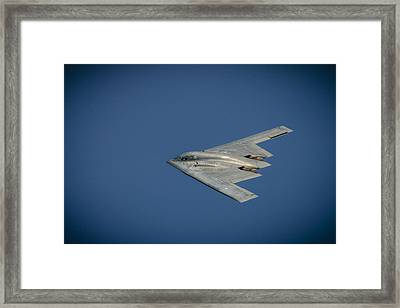 B2 Bomber  Framed Print by Bradley Clay