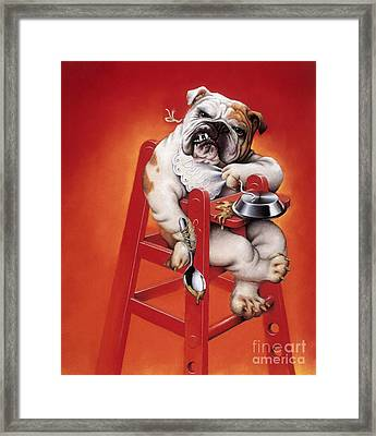 Baby Substitute, Conceptual Image Framed Print