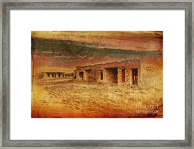 Back In The Day Framed Print by Erika Weber