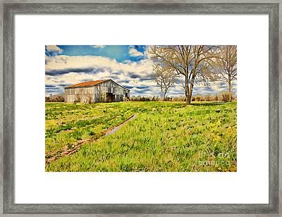 Back Roads Of Kentucky Framed Print by Darren Fisher