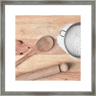 Baking  Framed Print