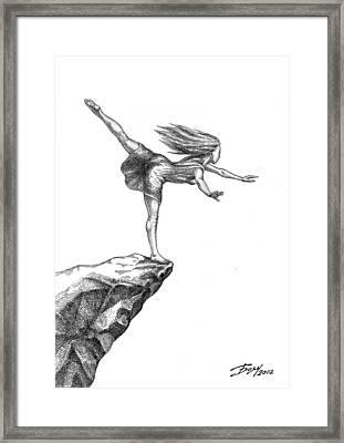 Balance Framed Print by Boyan Donev