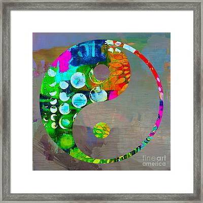 Balance Framed Print by Marvin Blaine