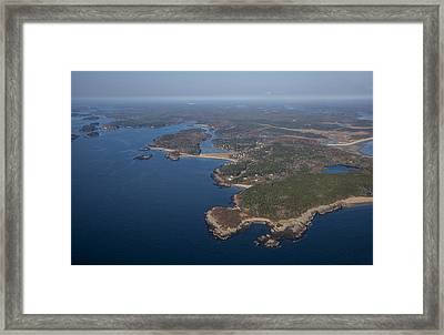 Bald Head And Small Point, Phippsburg Framed Print