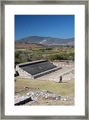 Ball Court Framed Print by Jim West