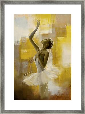 Ballerina  Framed Print by Corporate Art Task Force