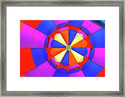 Framed Print featuring the photograph Balloon Fantasy 3 by Allen Beatty