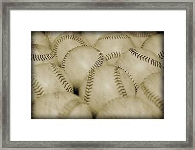 Balls Framed Print by Malania Hammer
