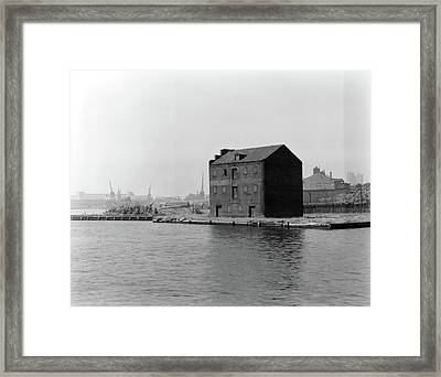 Framed Print featuring the photograph Baltimore Fell's Point by Granger