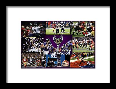 Baltimore Ravens Framed Prints
