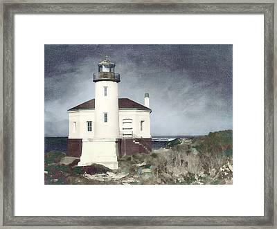 Bandon Lighthouse Framed Print